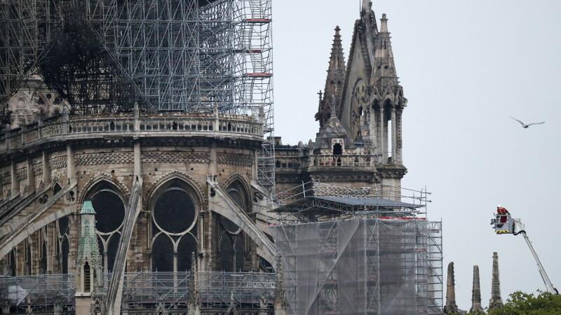 catedrala Notre Dame, dupa incendiu