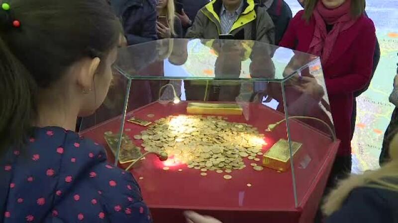 """Muzeul BNR, deschis în plin scandal de repatriere a aurului. """"E o problemă politică"""""""
