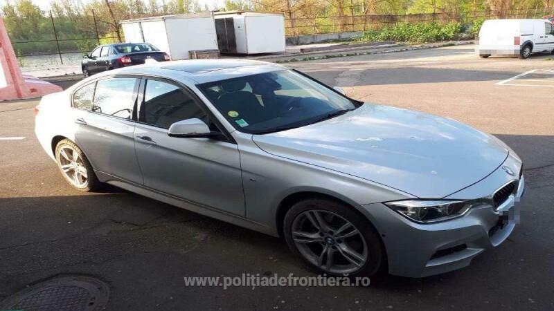 Un român ar fi furat o mașină din Franța