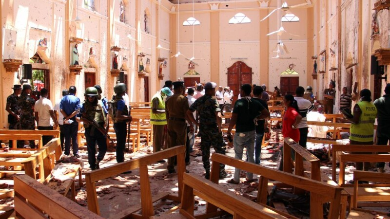 Un cetățean sirian, printre persoanele arestate după atacurile în lanț din Sri Lanka