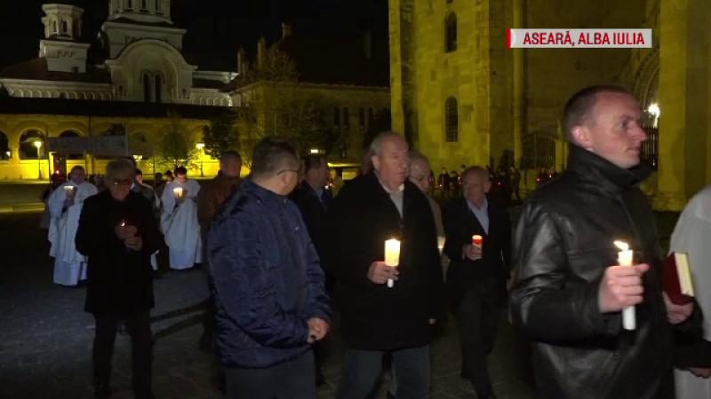 """Sărbătoarea Învierii, în marile orașe din țară. Creștin: """"Ne-a adus Lumina pe acest pământ"""""""
