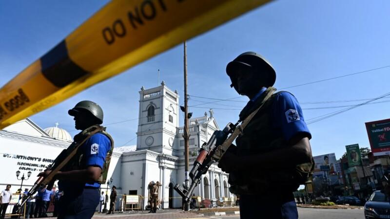 politie in Sri Lanka
