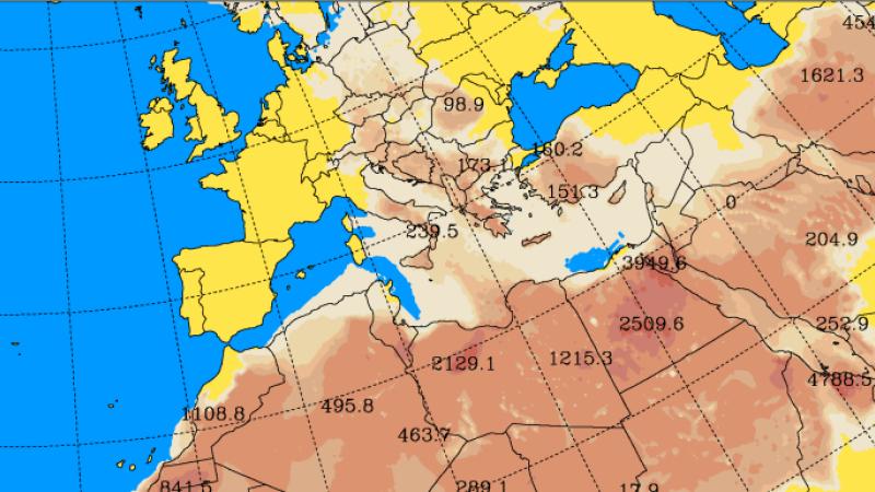 Europa, lovită un nor de praf saharian în următoarele zile. Cum va fi afectată România