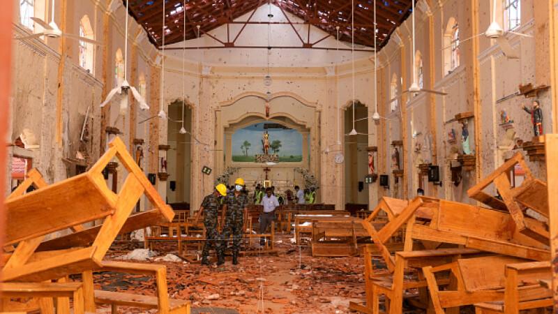 O nouă bombă a explodat luni lângă o biserică din Colombo, Sri Lanka