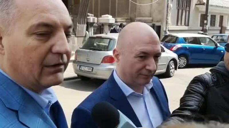 """Codrin Ștefănescu și trezorierul PSD Mircea Drăghici, la DNA: """"Sunt niște minciuni"""""""