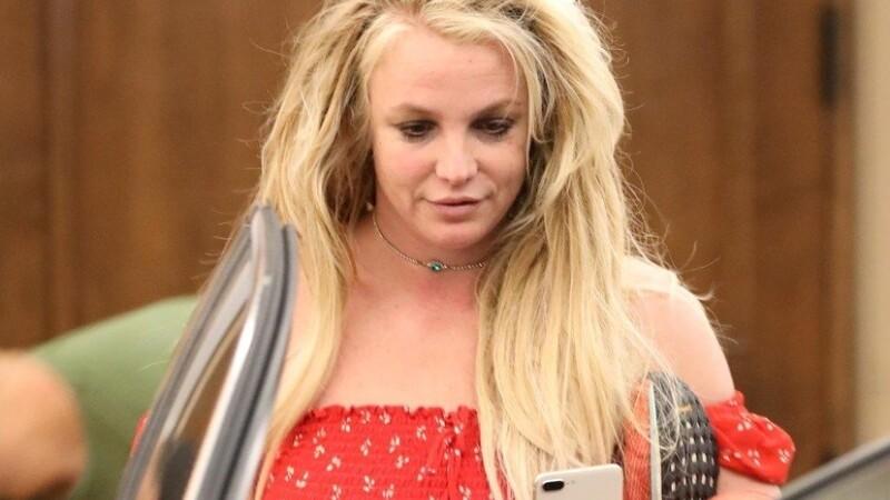 Primele imagini cu Britney Spears de când s-a internat într-o clinică de psihiatrie. FOTO