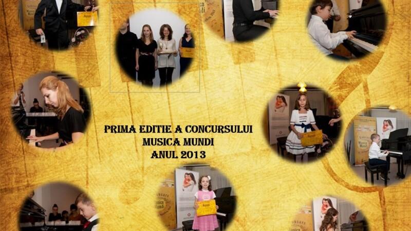 Concurs național de pian muzică Mundi