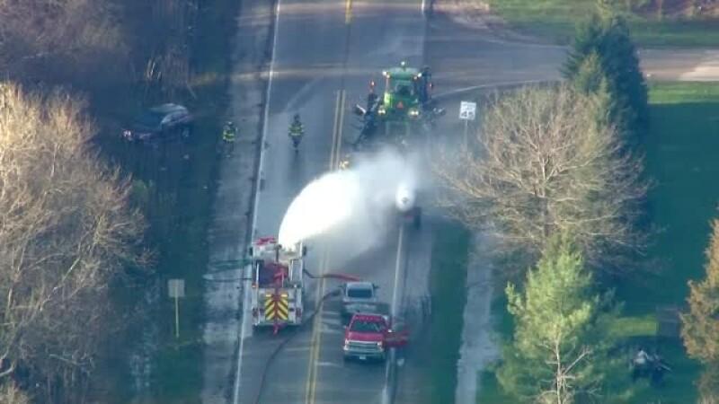 Oameni în stare critică după ce un gaz periculos a scăpat în atmosferă, dintr-o cisternă