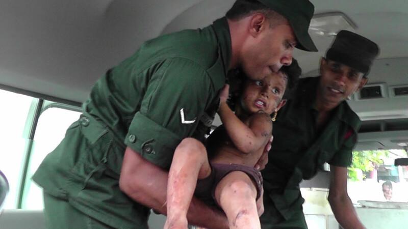Carnagiu în Sri Lanka. Cel puțin 15 oameni au murit în timpul unei acțiuni antiteroriste