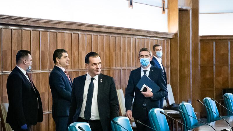 sedinta de Guvern, Ludovic Orban