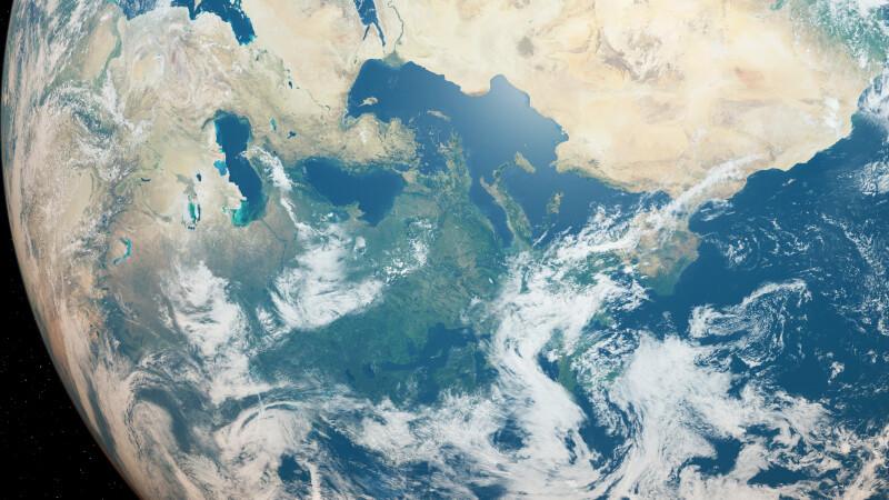 planeta strat de ozon