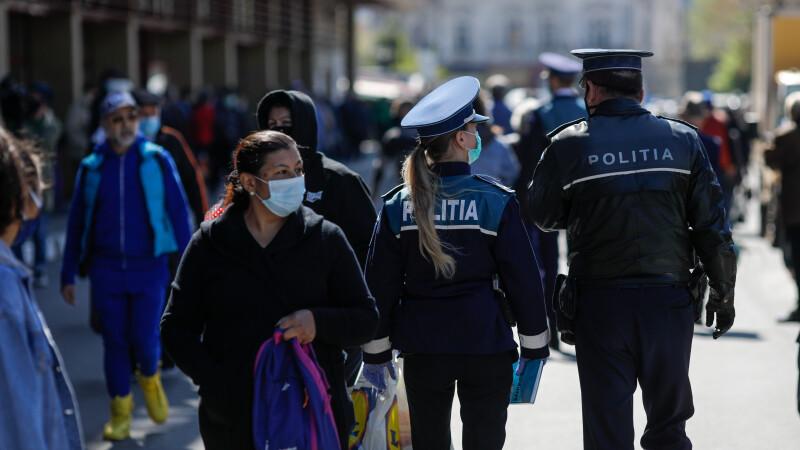 coronavirus Romania, politia, politie