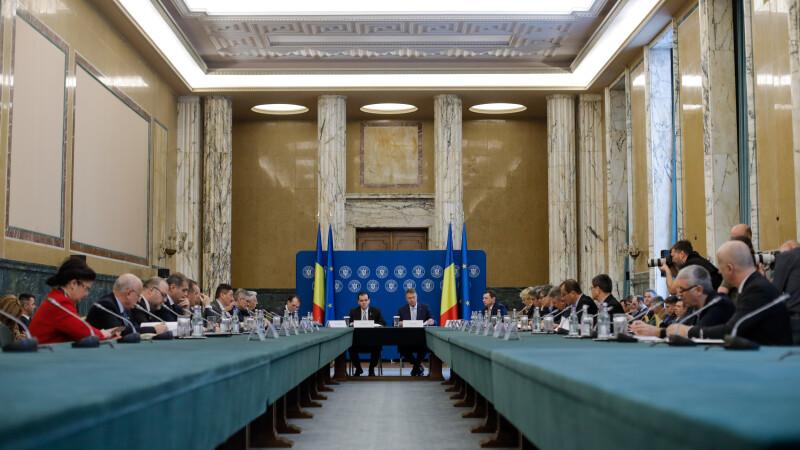 Guvernul se întrunește în ședință. Ce decizii se vor lua