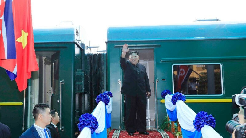 Kim Jong Un tren -2-