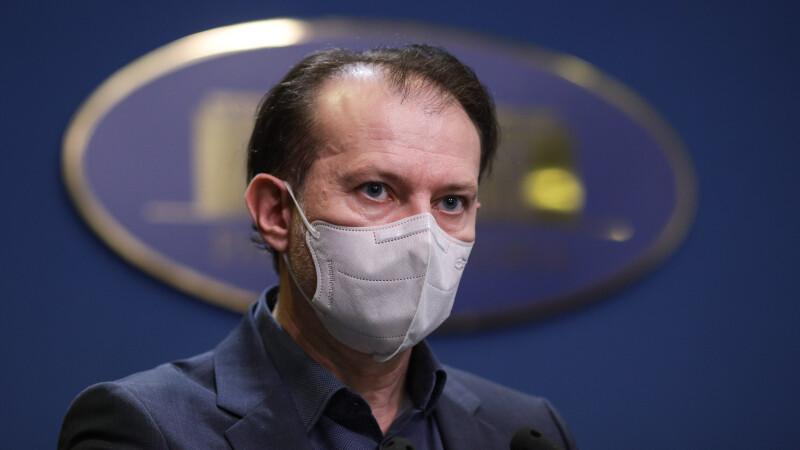 Florin Cîţu a anunțat că 7.165 de persoane s-au vaccinat la maratonul din Capitală, în ultimele 24 de ore