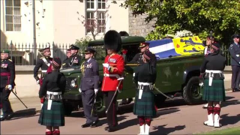 funeralii, Printul Philip