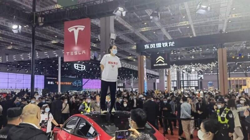 Shanghai, Tesla