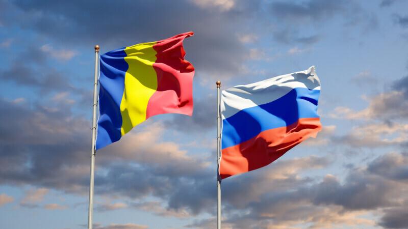 Rusia, Romania, steag