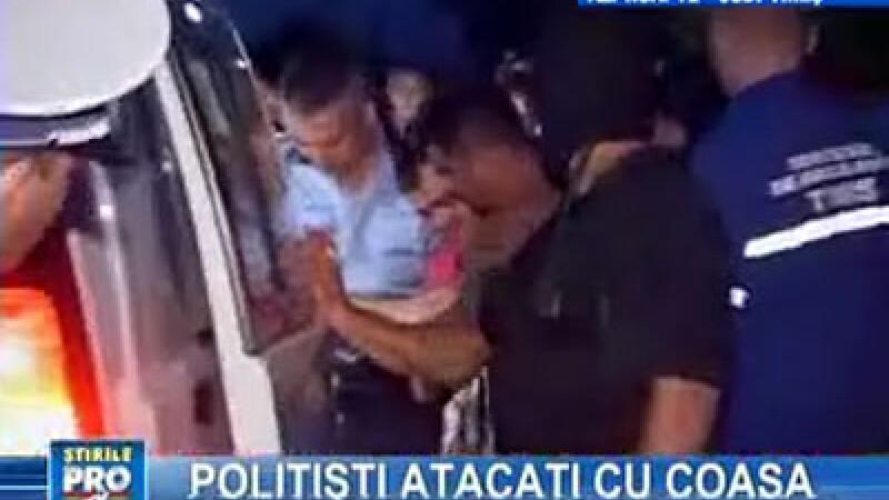 Tânărul împuşcat a fost reţinut de poliţişti