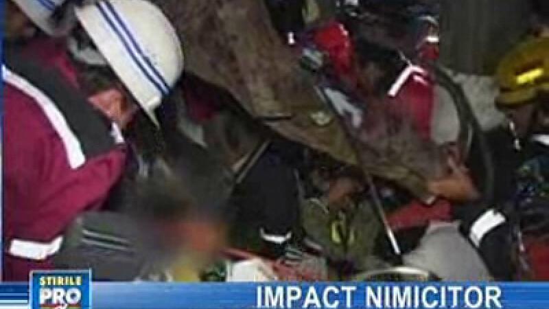 Doi răniţi grav în urma unui accident rutier pe DN1