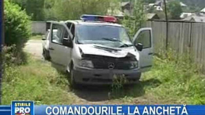 Continuă cercetările în cazul echipajului de poliţie atacat