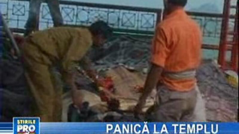 În India, 140 de oameni au murit călcaţi în picioare
