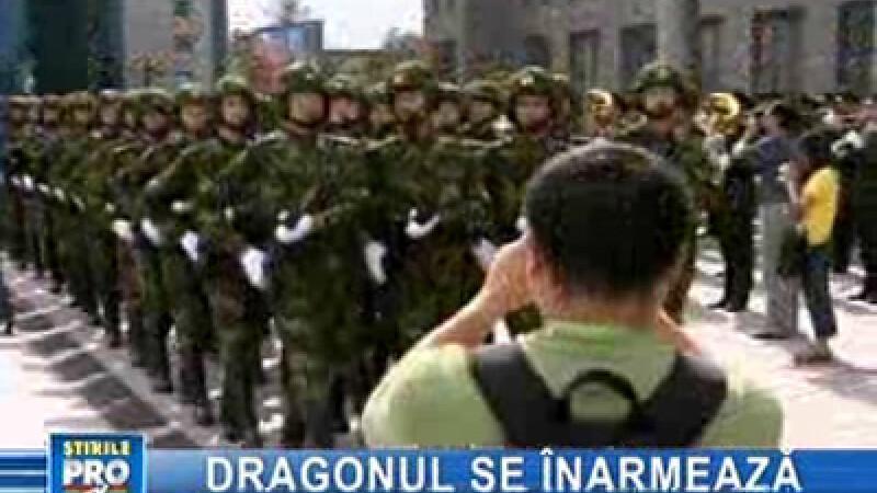 China se pregăteşte să devină şi o super-putere militară!