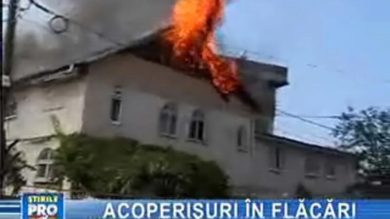 Clipe de foc în centrul Iaşului!