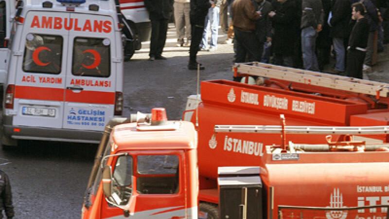 O persoană rănită în urma unor explozii în Istanbul