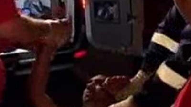 Şoferul beat s-a luat la ceartă cu poliţiştii