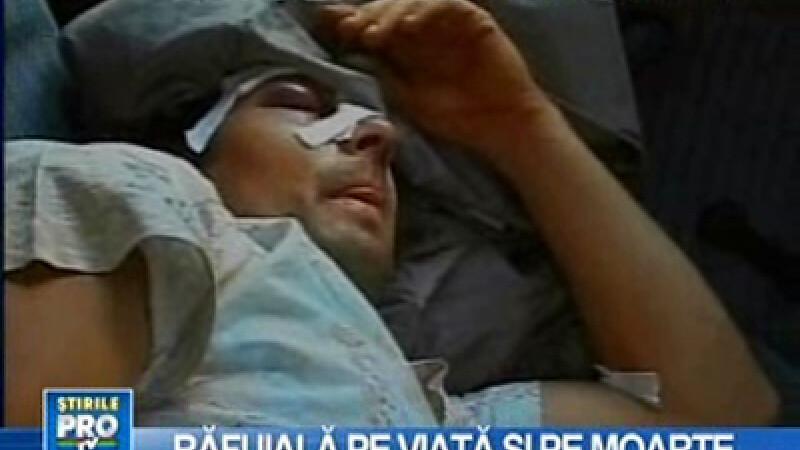 Tânăr bătut la spital