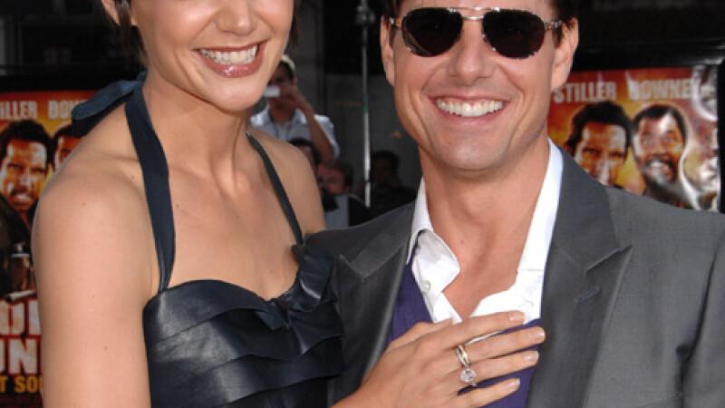 Katie Holmes şi Tom Cruise