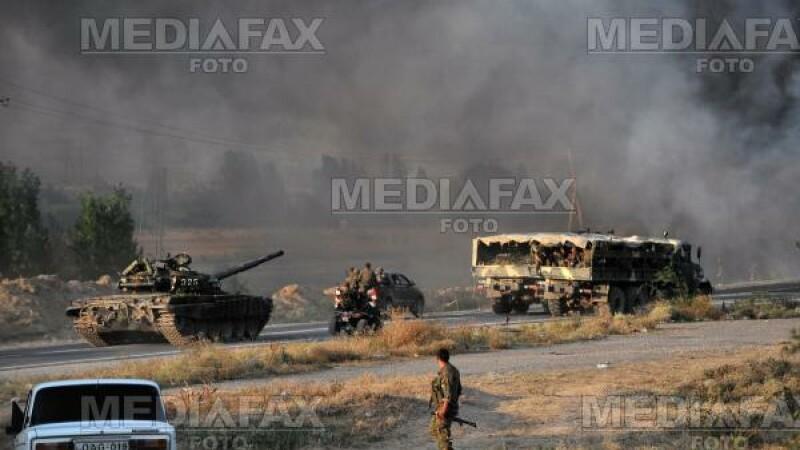 Jurnaliştii turci au fost întâmpinaţi cu focuri de armă în Osetia de Sud