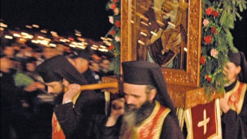 Sfânta Maria a adunat mii de credincioşi la mănăstirea Nicula