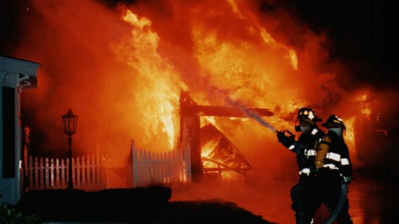 Incendiu in Galati