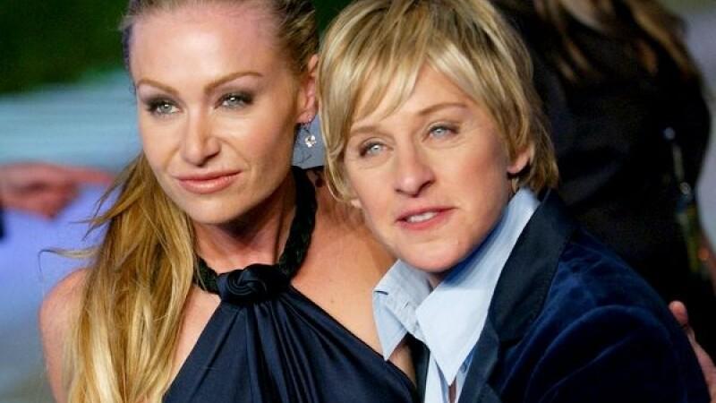 Ellen DeGeneres si Portia de Rossi s-au casatorit sambata