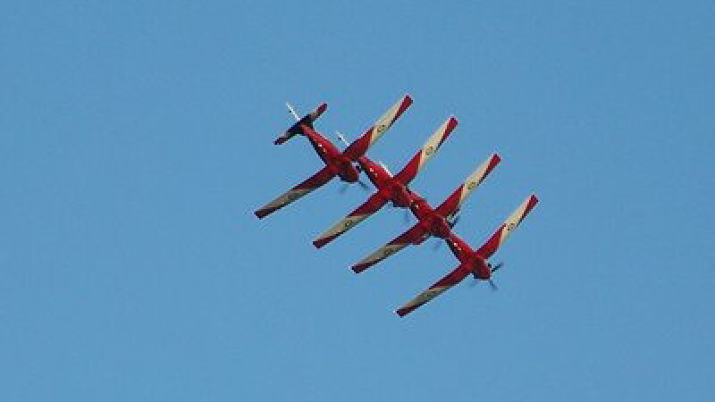 Show aviatic de zile mari la Mangalia!