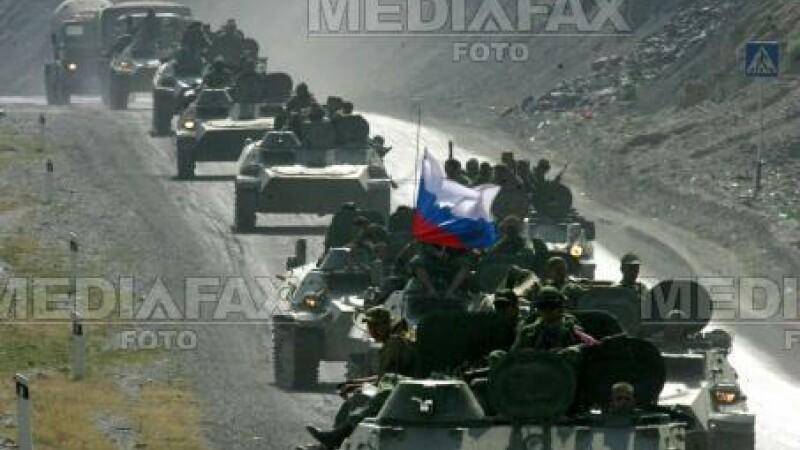 Trupe rusesti din Georgia