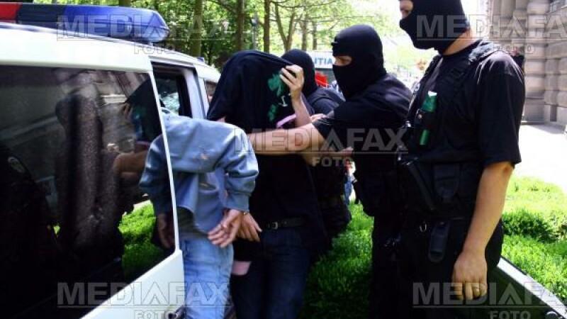 Agresorul a fost retinut de politisti