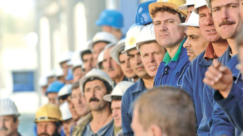 muncitori romani
