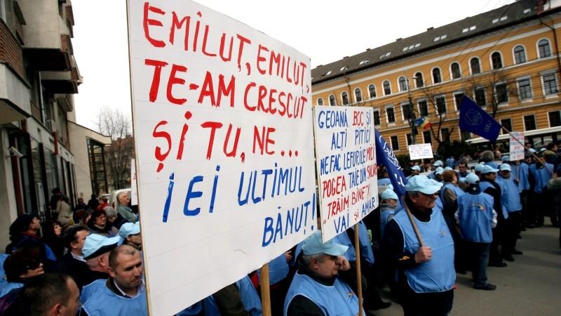 Protest bugetari