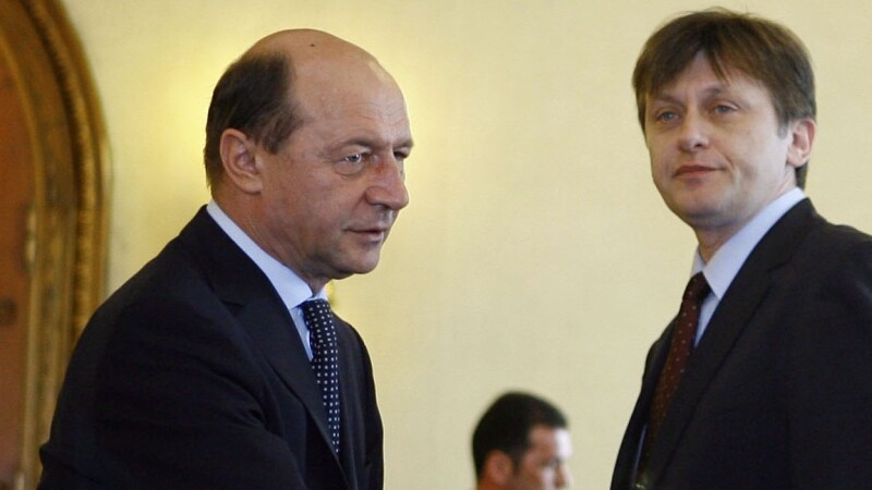 Crin Antonescu si Traian Basescu