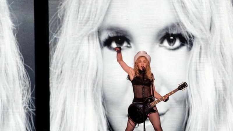 Madonna in Romania