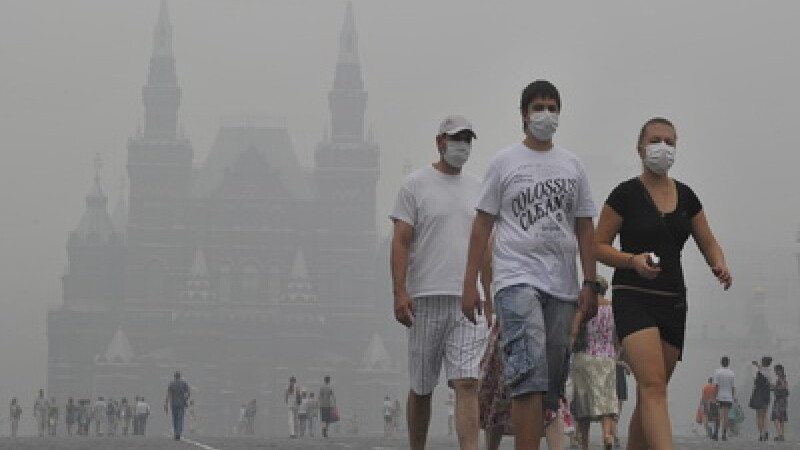 Fum la Moscova