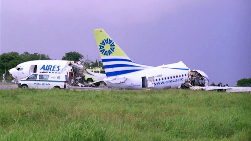 accident avion Columbia