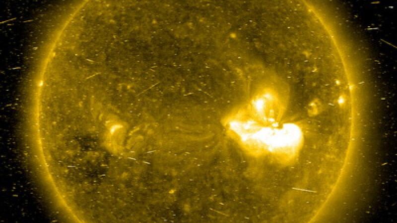 Furtuna Solara, soarele