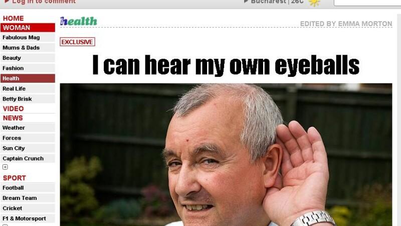 I-a uimit pana si pe medici: el este omul care isi aude propriile organe