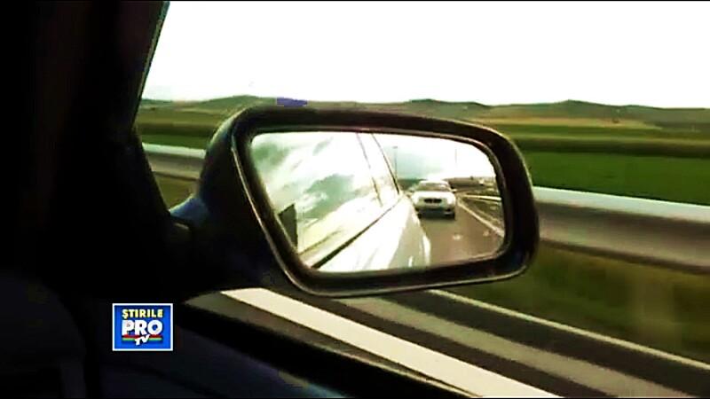 vitezoman pe autostrada Transilvania