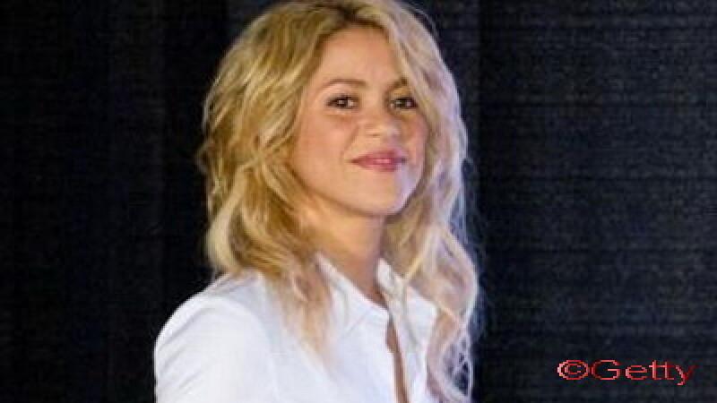 Shakira - locul sapte pe Twitter
