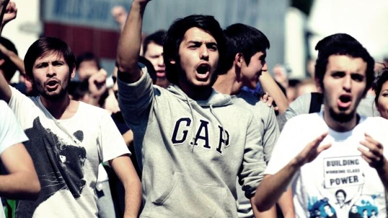 studenti proteste
